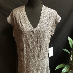 NWT Athleta After Hours Dress Gray and Black SZ M